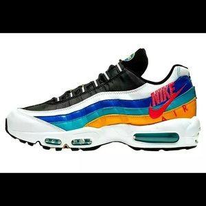 Nike Air Max 95 SE Windbreaker Running Shoes Sz 6